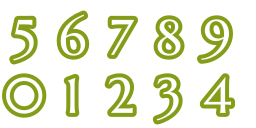 NumberFont